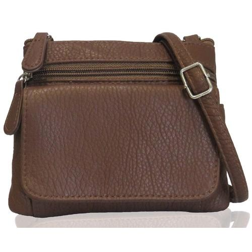 AFONiE- Mini Sofia Genuine Leather Cross-Body Bag
