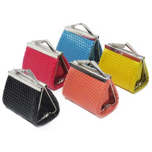 Lipstick Kiss Lock Coin Wallet-Assorted Colors