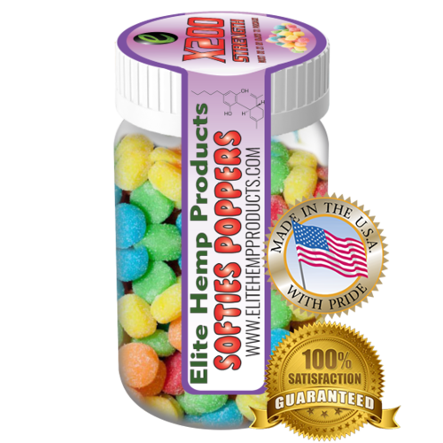 Elite Hemp Gummies Hemp Infused Gummy Poppers x200 Strength (Classic)