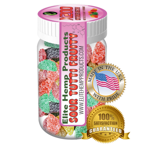 Elite Hemp Gummies Hemp Infused Gummy Fruits x200 Strength (Classic)