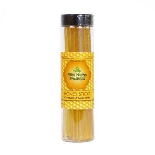 Hemp Honey Sticks - 25 Sticks - 250mg Weight Watchers Points 1