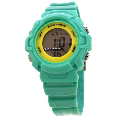 FMD by Fossil Ladie's Standard 3-Hand Analog Plastic Watch-TZ