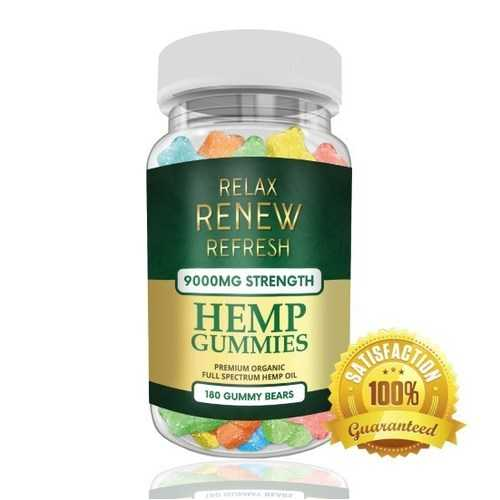 Hemp Gummies 9000mg
