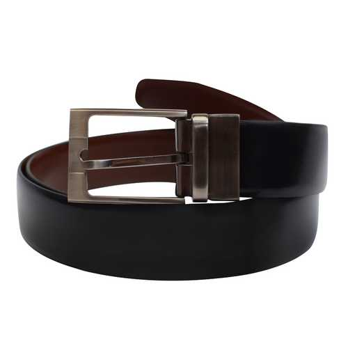 Reversible 100% Cowhide Genuine Leather Belt