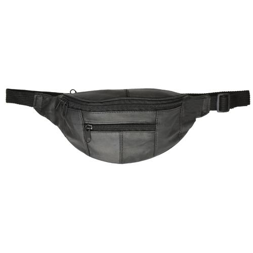 Multiple Pocket Genuine Leather Waist Pack