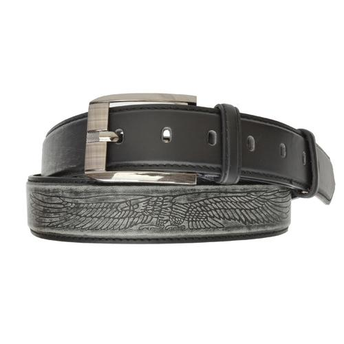 AFONiE Men's Jeans Leather Belt Buckle
