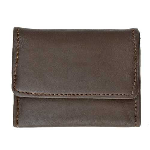 Leather Change Wallet