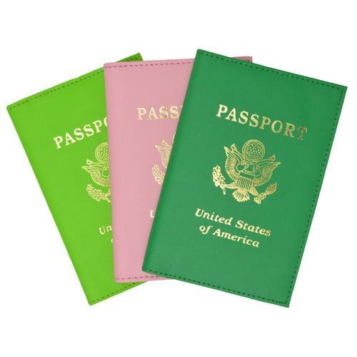 Passport Holder Travel with Logo