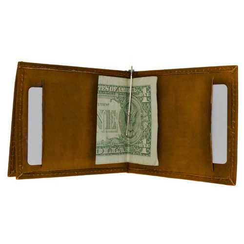 Leather Money Clip & Change Purse