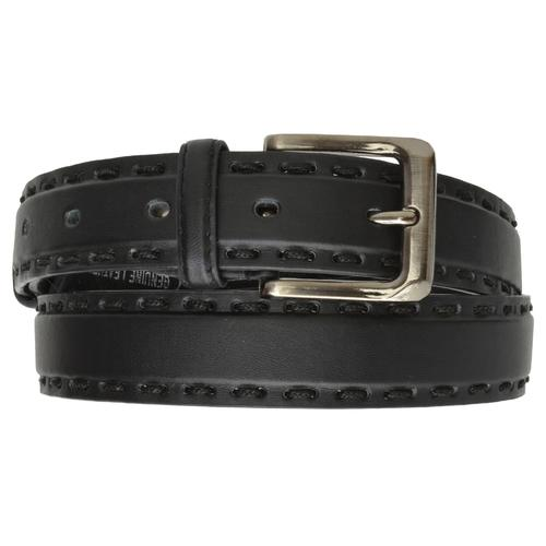 AFONiE Genuine Leather Belt with Buckle