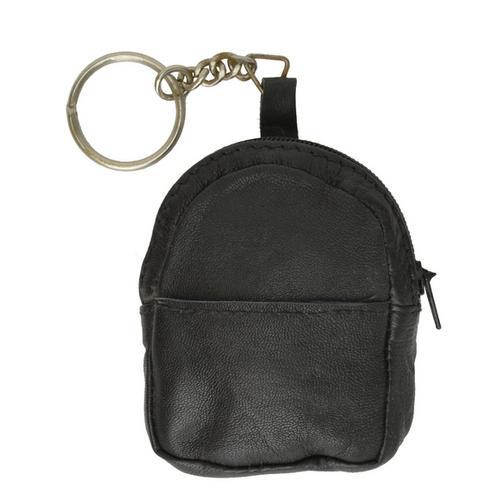 Leather Keychain Change Purses