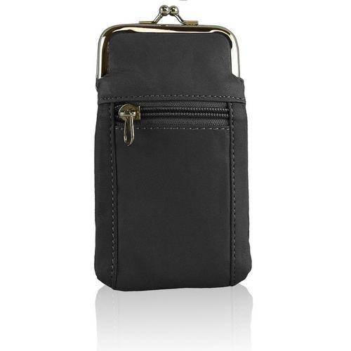 Soft Leather Cigarette Case Holder