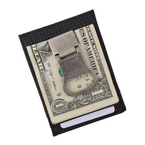 Genuine Leather Drinking Money Clip Wallet