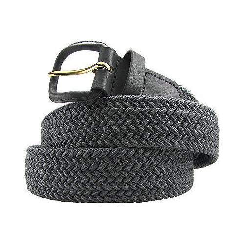 Fabric Elastic Stretch Belt Grey Color