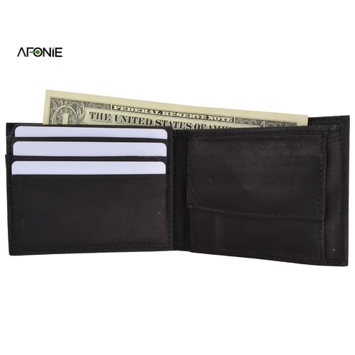 AFONiE-Classic Leather Wallet For Men