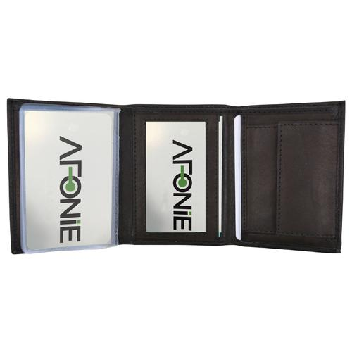 AFONiE- Small Leather Wallet For Men