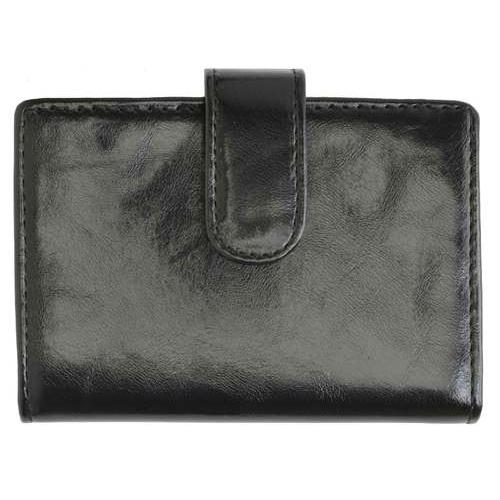 AFONiE Leather Card Case-Black Color