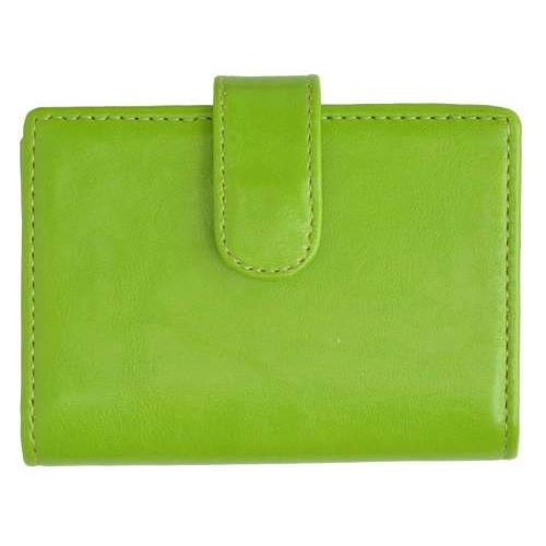 AFONiE Leather Card Case-Green Color