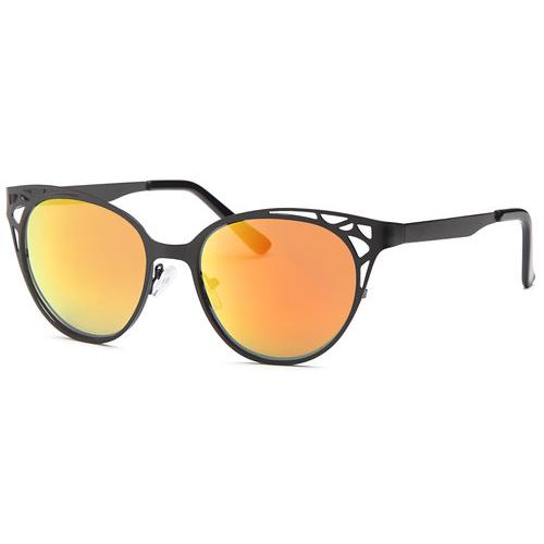 Black Eyeshine Fashion Revo Red Lens Glasses