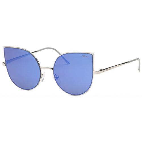 Blue Cat Eye Bright Summer Sunglasses