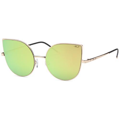 Gold Cat Eye Bright Summer Sunglasses