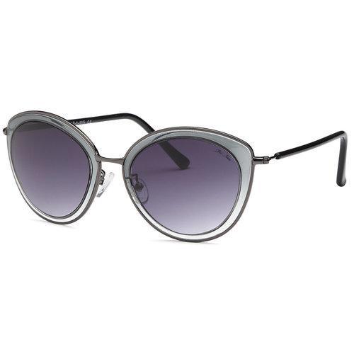 Black Fashion Sunglasses Clear Frame