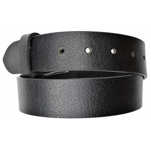 Snap On Buckle Leather Belt