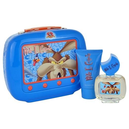 Wile E. Coyote by Looney Tunes 3 Piece Perfume Set with Keychain