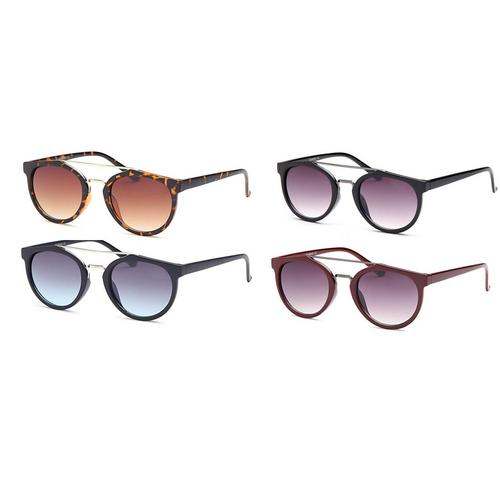 Fashion Unisex Sunglasses Pack of 4, Assorted Colors