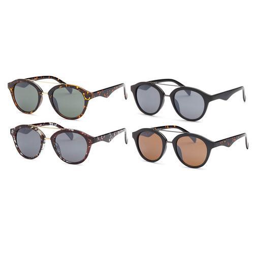 4 Pack Retro Fashion Sunglasses