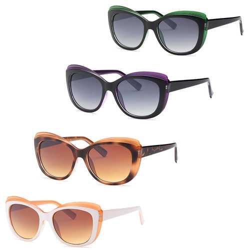 Cat Eye Fashion Style Sunglasses-Pack of 4