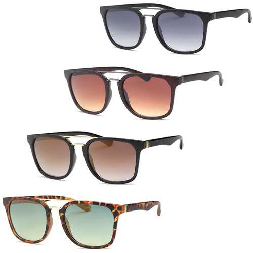Modern Square Fashion Unisex Sunglasses-Pack of 4
