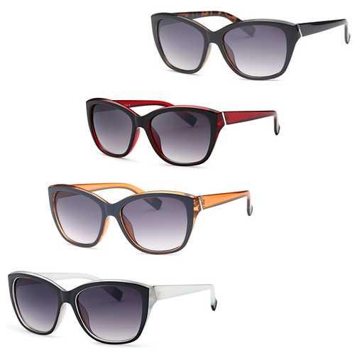 Thick Frame Retro Square Sunglasses (4 pack)
