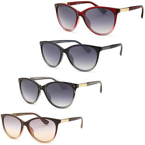 Womens Casually Classic Sunglasses (4 Pack)