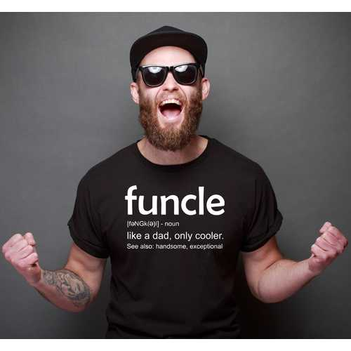 Funcle Men T-shirt
