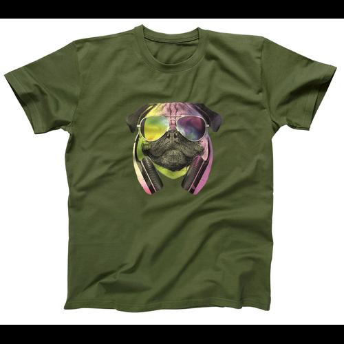 AFONiE DJ Pug Kids T-Shirt