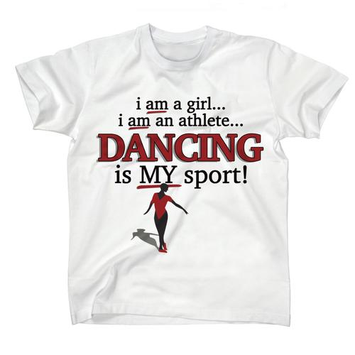 AFONiE Dancing Is My Sport Kids T-shirt