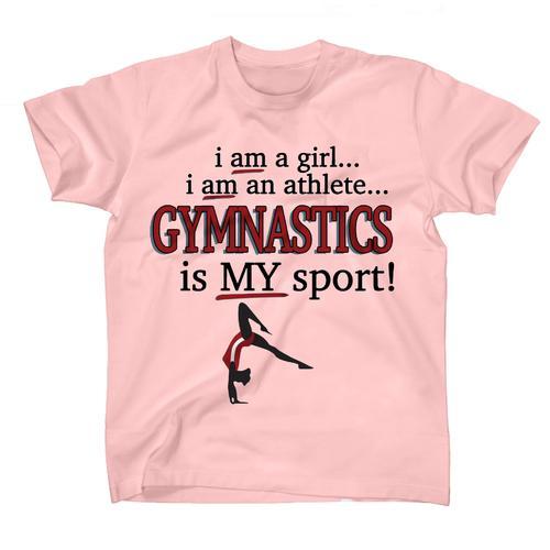 AFONiE Gymnastics Is My Sport Kids T-Shirt