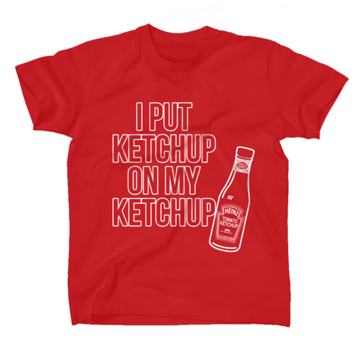 AFONiE Ketchup Kids T-shirt