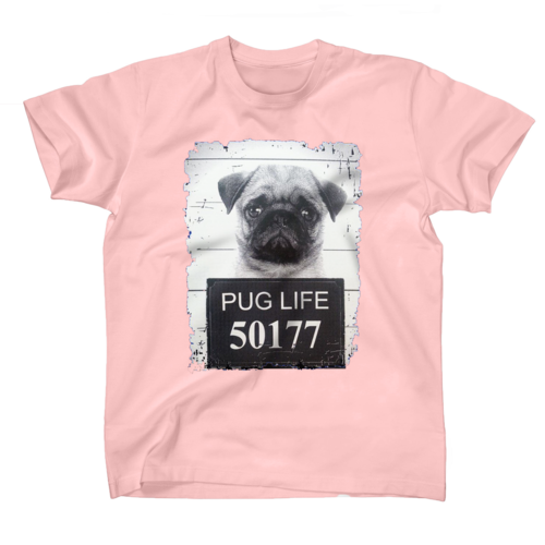 AFONiE Pug Jail Life Kids T-Shirts
