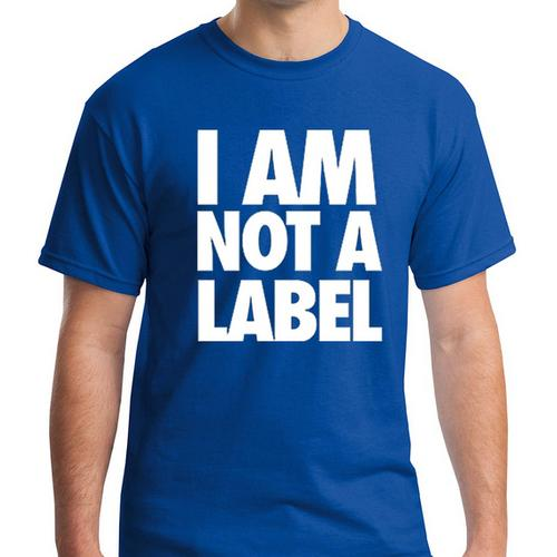 I AM NOT A LABEL Men Graphic T-shirt Assorted colors