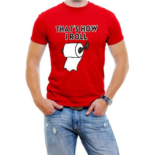 That's How I Roll Funny men T-Shirt