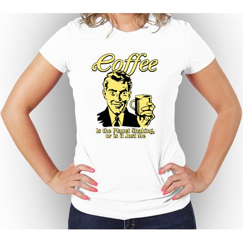 Funny Coffee T-Shirt For Women Assorted Colors
