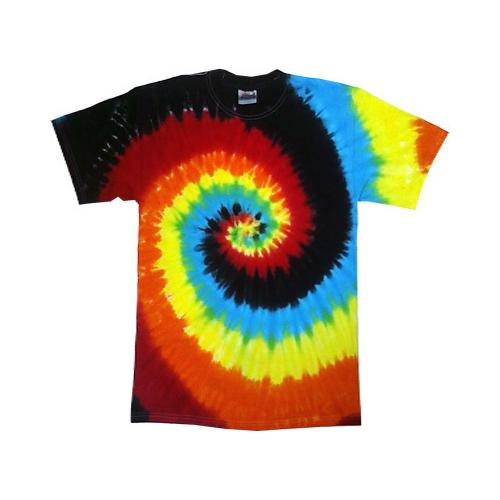 Eclipse Tie Dye T-Shirt Sizes S-3XL