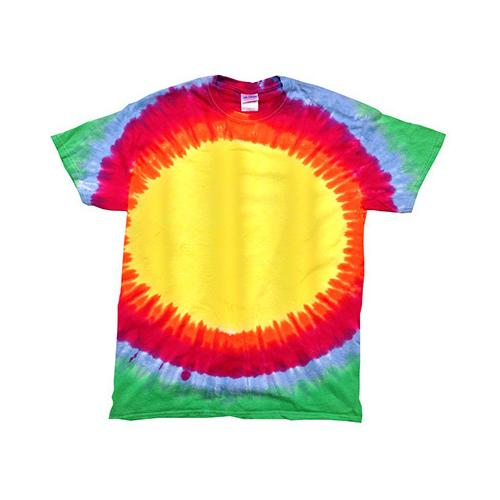 Sunburst Rainbow Colorful Tie Dye T-Shirt Sizes S-XXXL