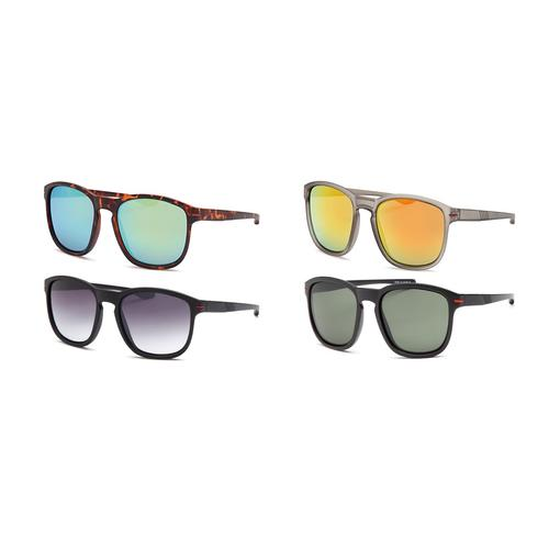 Classic Style Sunglasses - Pack of 4- Assorted Colors
