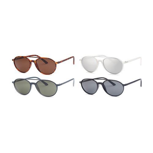 AFONie- 4 Pack Cool Aviator Unisex Sunglasses