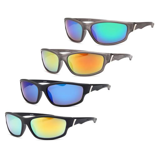 AFONiE- 4 Pack Smoke Eye Men Sunglasses