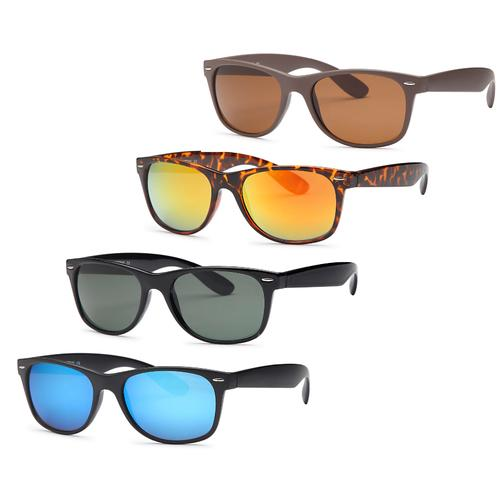 AFONiE- 4 Pack Classic Love Unisex Summer Sunglasses