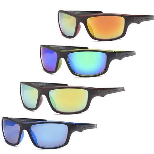 AFONiE-4 Pack Rectangle Sport Sunglasses For Men